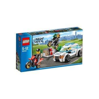 Lego City : No.60042 Lego City High Speed Police Chase Set ชุดตำรวจจับแก็งค์มอเตอร์ไซค์