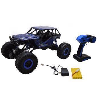 Gadget รถไต่หิน Off-Road 2.4ghz 4WD Rock Crawler HB - P1002 - (สีน้ำเงิน)