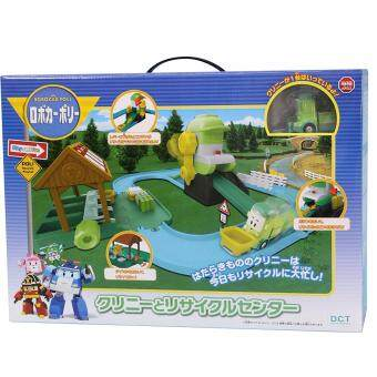 Robocar Poli Recycle Playset (Green)