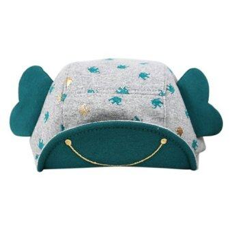 Baby Touch หมวกเด็ก แก๊ปหูช้าง (เขียว)