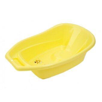 Moderncare อ่างอาบน้ำสำหรับเด็กรุ่นยกระดับ - สีเหลือง