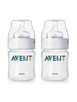 AVENT ขวดนมขนาด 4 ออนซ์ แพ็คคู่ (BPA Free)