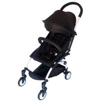 รถเข็นเด็กแบบพกพา ยี่ห้อ Ada Baby - สีดำ image
