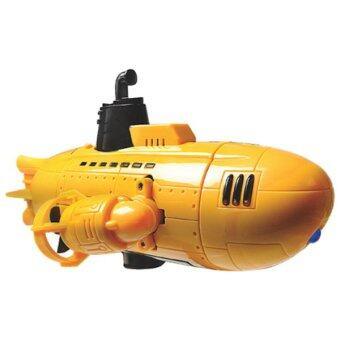 Mako submarine เรือดำน้ำไฟฟ้าบังคับวิทยุ สเกล 1:18 - สีเหลือง
