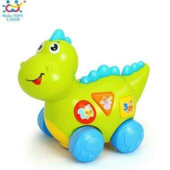 ของเล่นเสริมทักษะ ไดโนเสาร์น้อยหรรษา Huile Toy
