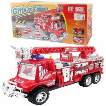 Morning รถดับเพลิงของเล่น Gifts to Childen No.8825-04