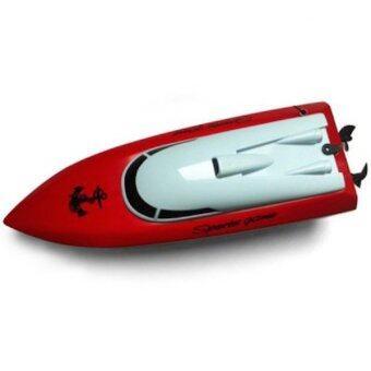 Babybearonline เรือบังคับวิทยุไฟฟ้า SPEED BOAT Heyuan 802 - สีแดง