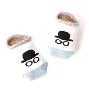 4 คู่เพศเด็กผ้าลื่นถุงเท้าสำหรับ 0 - 24 เดือน (image 3)