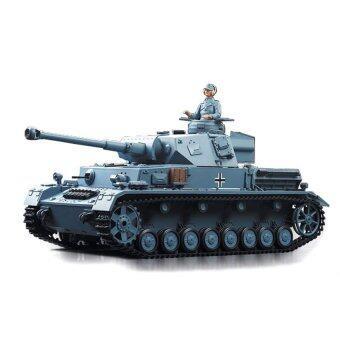 รถบังคับวิทยุ รถบังคับไฟฟ้า รถถังบังคับวิทยุ German Panzer 3859 Scale 1:16