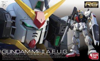 Bandai Gundam กันดั้ม Real Grade (RG) 1/144 RX-178 Gundam MK-II (A.E.U.G.)