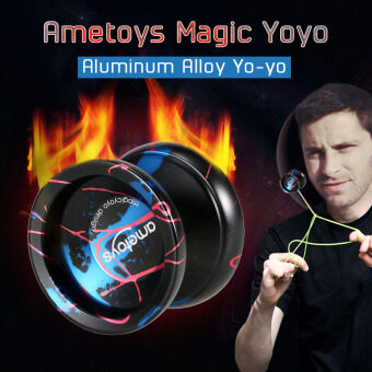 Ametoys Professional Magic Yoyo High-speed Aluminum Alloy Yo-yo CNC lathe KK Bearing for Boys Girls Children Kids - intl
