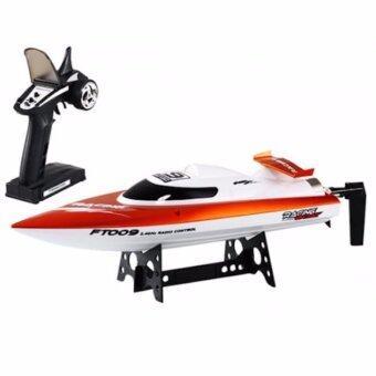 Feilun Rc Boat Racing เรือบังคับไฟฟ้า 7.4 v. Speed Boat รุ่น FT009 วิทยุ 2.4 Ghz. (คละสี)