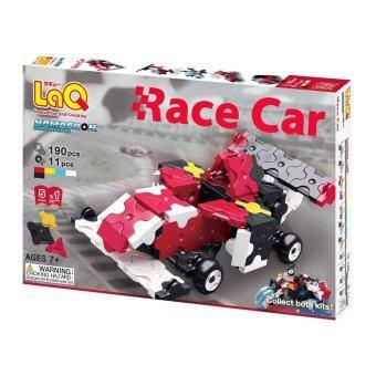 LaQ Hamacron Constructor Race Car สำหรับเด็กผู้ชาย - กล่องสีแดง
