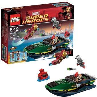 LEGO SUPER HEROS : IRON MAN 3 : 76006 IRON MAN EXTREMIS SEE PORT BATTLE