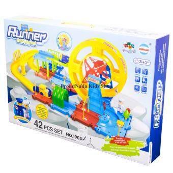 ProudNada Toys ของเล่นเด็กชุดรถไฟ(กล่องใหญ่)Runner Orbit play set NO. 1905
