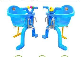 TM เก้าอี้เด็กนั่งเสริมหน้าจักรยาน สีฟ้า