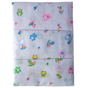 JUJU จูจู ผ้าอ้อมผ้าสาลู คละลาย คละลาย ขนาด 22x22 นิ้ว 12ผืน/แพ็ค