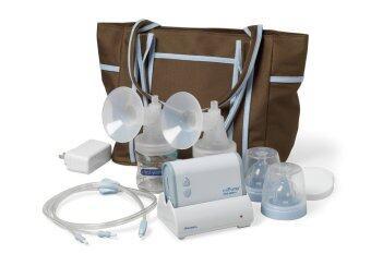 The First Years miPump - Double Breast Pump (ชุดกระเป๋าพร้อมเครื่องปั้มนมคู่อัตโนมัติ)