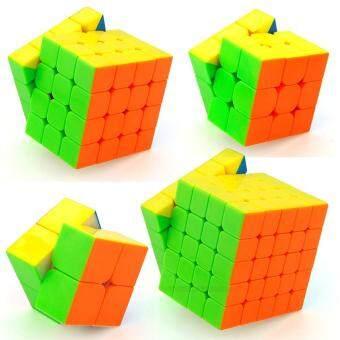 360DSC MoYu Cubing Classroom Gift Box Package 2x2 3x3 4x4 5x5 Stickerless Magic Cube Speed Puzzle 9301B - intl