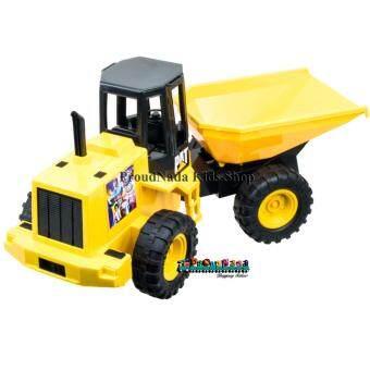 ProudNada Toys ของเล่นเด็กรถเทหินท้ายคราดเบรฟแมน Brave man Machinery YFC817