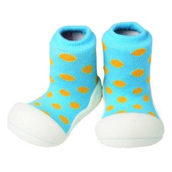 Attipas รองเท้าเด็กหัดเดิน Polka Dot Sky