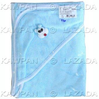 Attoon ผ้าข่นหนูห่อตัวเด็ก - สีฟ้า
