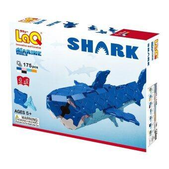 LaQ Marine World Shark สำหรับเด็กผู้ชาย - กล่องสีน้ำเงิน