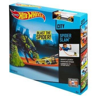 Hot Wheels? SPIDER SLAM? Track Set