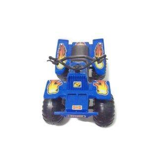 DOLLYCHIC รถมอเตอร์ไซด์ รถมอเตอร์ไซด์ทะเลทราย สีน้ำเงิน