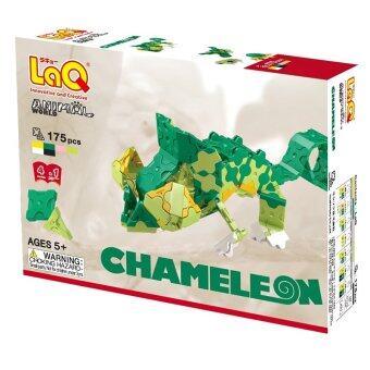 LaQ Animal World Chameleon สำหรับเด็กผู้ชาย ( กล่องสีเขียว )