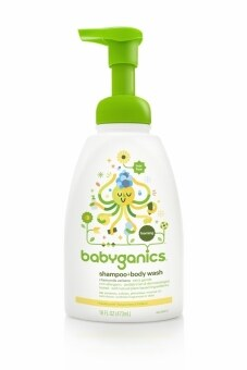 BABYGANICS BODY WASH & SHAMPOO ผลิตภัณฑ์ทำความสะอาดเส้นผมและร่างกาย กลิ่นคาโมมายล์ เวอร์บีน่า 473 มล.
