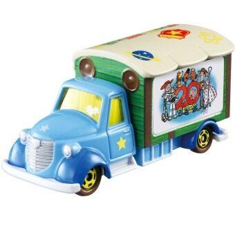 Tomica Disney Motors รถเหล็ก Goody Carry Toy Story 20TH Anniversary (Blue)