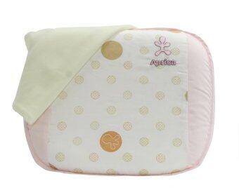 Aprica หมอนยางพาราระบายอากาศ รุ่น Infant Latex Pillow Short - สีชมพู
