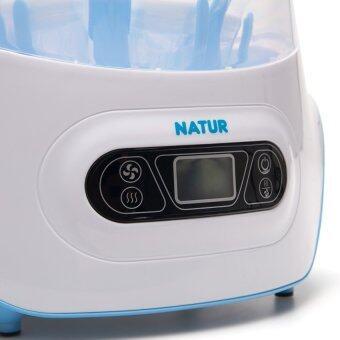 Natur เครื่องนึ่งขวดนมไฟฟ้าพร้อมอบแห้ง (แถมฟรี ขวดนม 6 ใบ) (image 1)