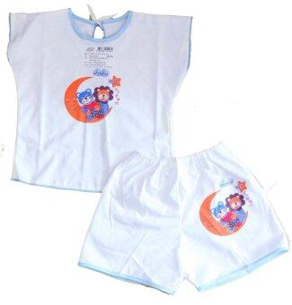 Attoon ชุดเด็กแรกเกิดคลุมไหล่ ผ้า Cottoon