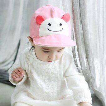 เด็กสาวสวมหมวกเบสบอลซันน่ารัก (สีชมพู) (image 3)
