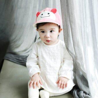 เด็กสาวสวมหมวกเบสบอลซันน่ารัก (สีชมพู) (image 2)