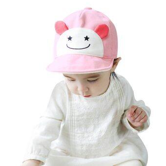 เด็กสาวสวมหมวกเบสบอลซันน่ารัก (สีชมพู)