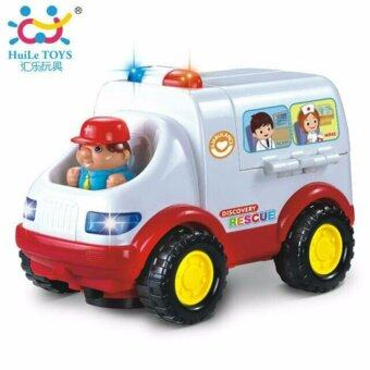 ของเล่นเสริมทักษะ รถพยาบาลหรรษา HUILE TOYS