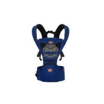 Kunkidshop เป้อุ้มเด็ก Aiebao แบบมีที่นั่งเด็ก(Hipseat) รุ่น A6610 สีน้ำเงิน