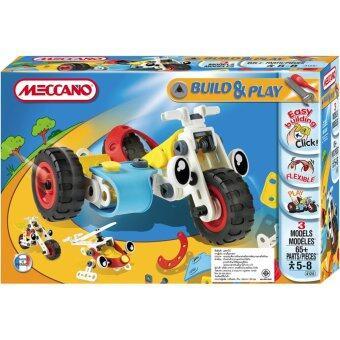 MECCANO B&P SIDE CAR ตัวต่อพลาสติก 3 แบบ