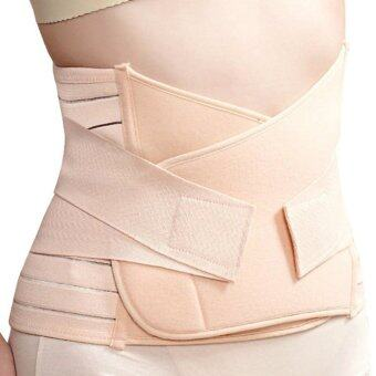 Maternity Postpartum Corset Support Recovery Tummy Belly Waist Belt Shaper Slimmer 96*23.5cm (Beige)