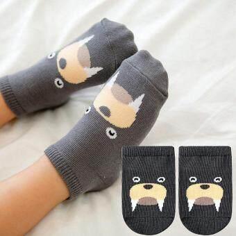 ผสมสี 4 คู่เด็กผู้ชายผ้าฝ้ายถุงเท้าลายการ์ตูนสำหรับ 0 ที่ 24เดือน- (image 2)
