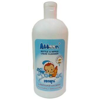 ขายยกลัง! Attoon Bottle & Nipple Liquid Cleanser 1,000 ml. (12 ขวด)