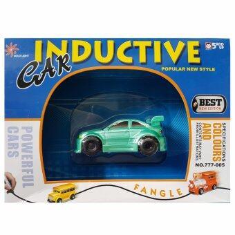 รถบังคับ Inductive Car กำหนดทิศทางด้วยการวาดเส้น (สปอร์ตสีเขียว)
