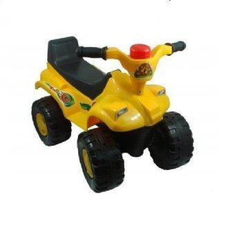 Victory Toys รถจ้าวทะเลทรายเด็กนั่งขาไถ (สีเหลือง)