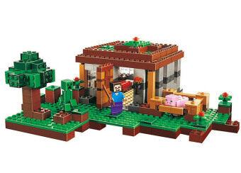 LELE Minecraft The First Night ตัวต่อบ้านมายคราฟ