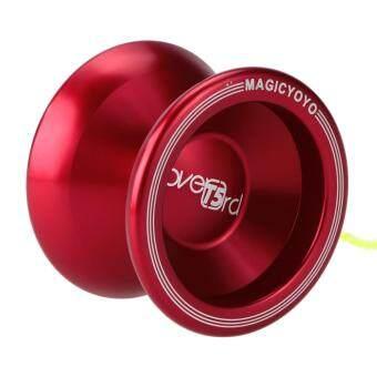 YOYO อัจฉริยะ Yo-Yo T5 เจ้าเหนือหัวสตริงลูกไม้แดงเข้มอลูมิเนียม (image 0)