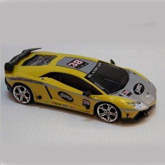 รถบังคับวิทยุ รถแข่งของเล่น รถบังคับ รีโมทคอนโทรล รถเก๋ง Drift ได้ รุ่น JHL-1233A ( Yellow)