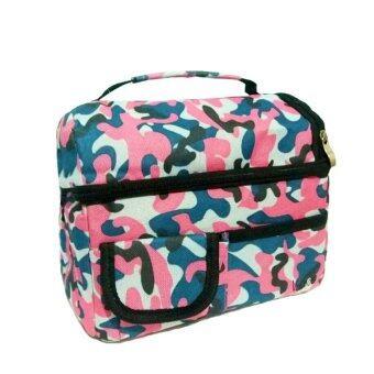 Cool กระเป๋าเก็บอุณหภูมิ V-cool (Pink Camouflage)